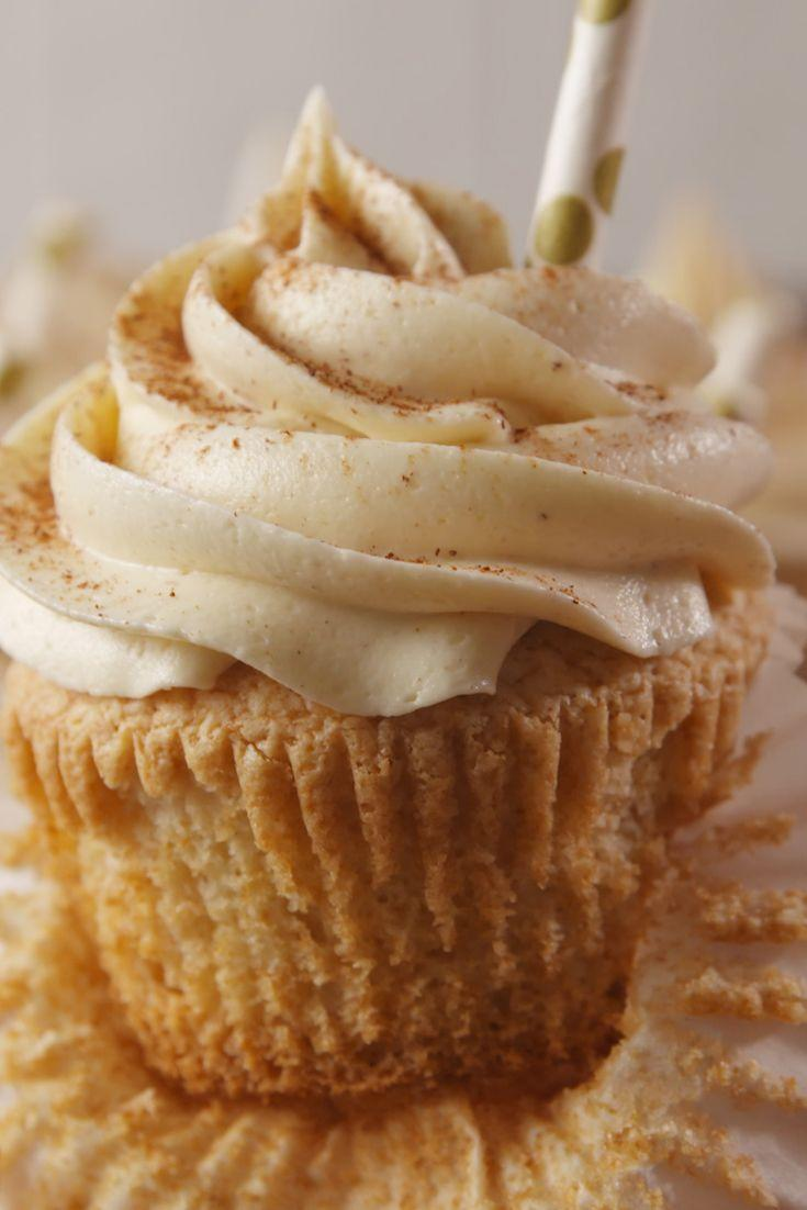 """<p>Is this a beauty or what?!</p><p>Get the recipe from <a href=""""https://www.delish.com/cooking/recipe-ideas/recipes/a55701/rumchata-cupcakes-recipe/"""" rel=""""nofollow noopener"""" target=""""_blank"""" data-ylk=""""slk:Delish."""" class=""""link rapid-noclick-resp"""">Delish.</a> </p>"""