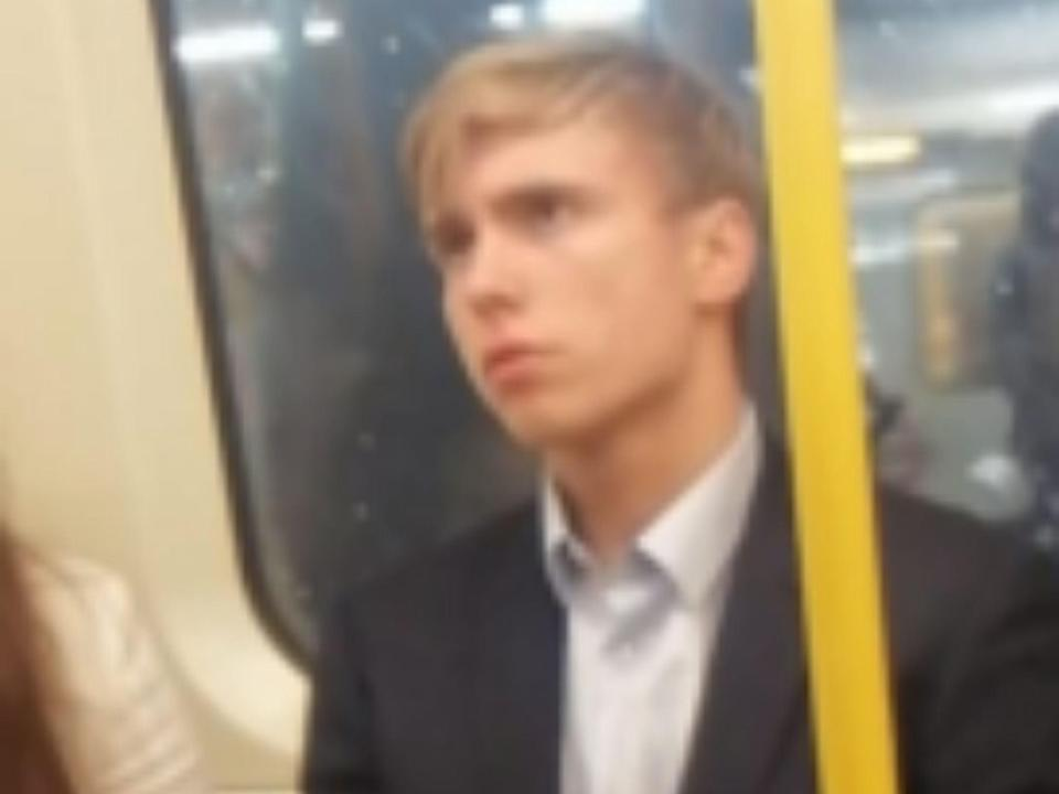 Police have released an image of a man they want to trace following the incident (BTP)