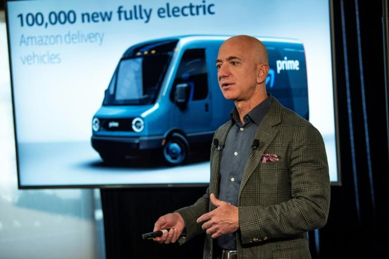 As part of its climate intiative, Amazon will purchase 100,000 electric vehicles for its deliveries, the first of which will begin operating in 2021