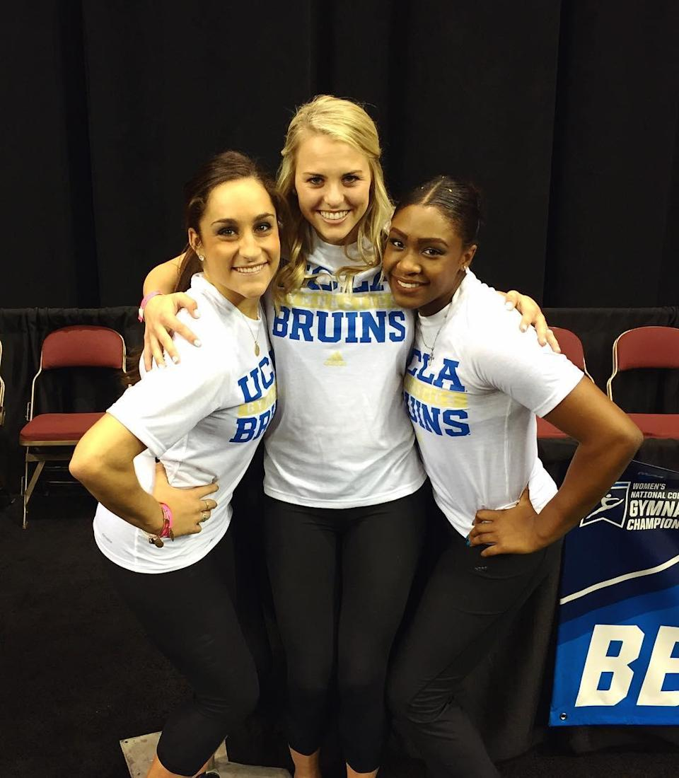<p>She enrolled at UCLA and became an assistant to their gymnastics team. While thoughts of returning to the Olympics lingered, Wieber ultimately retired from the sport and became solely committed to a new phase of life called college. (@jordyn_wieber on Instagram) </p>
