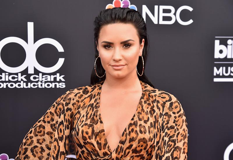 Take a walk in Demi Lovato's shoes (literally!) in her