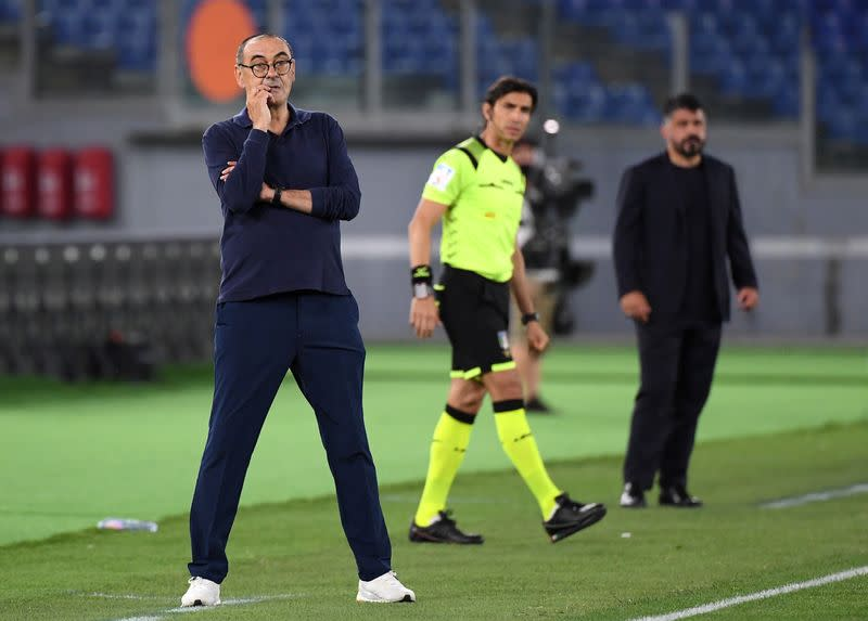 Sarri denies row with Pjanic, confident of Ronaldo rebound