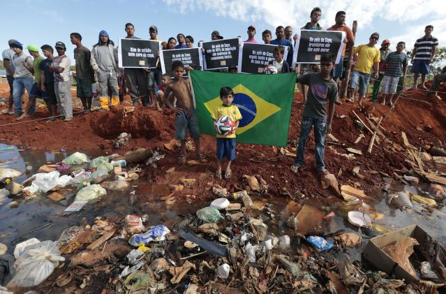 Click on the photo to see more of the other side of Brazil. (Reuters)