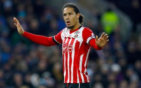 <span>Barring a last-minute bid from elsewhere, Van Dijk will be winging his way to Anfield</span> <span>Credit: PA </span>