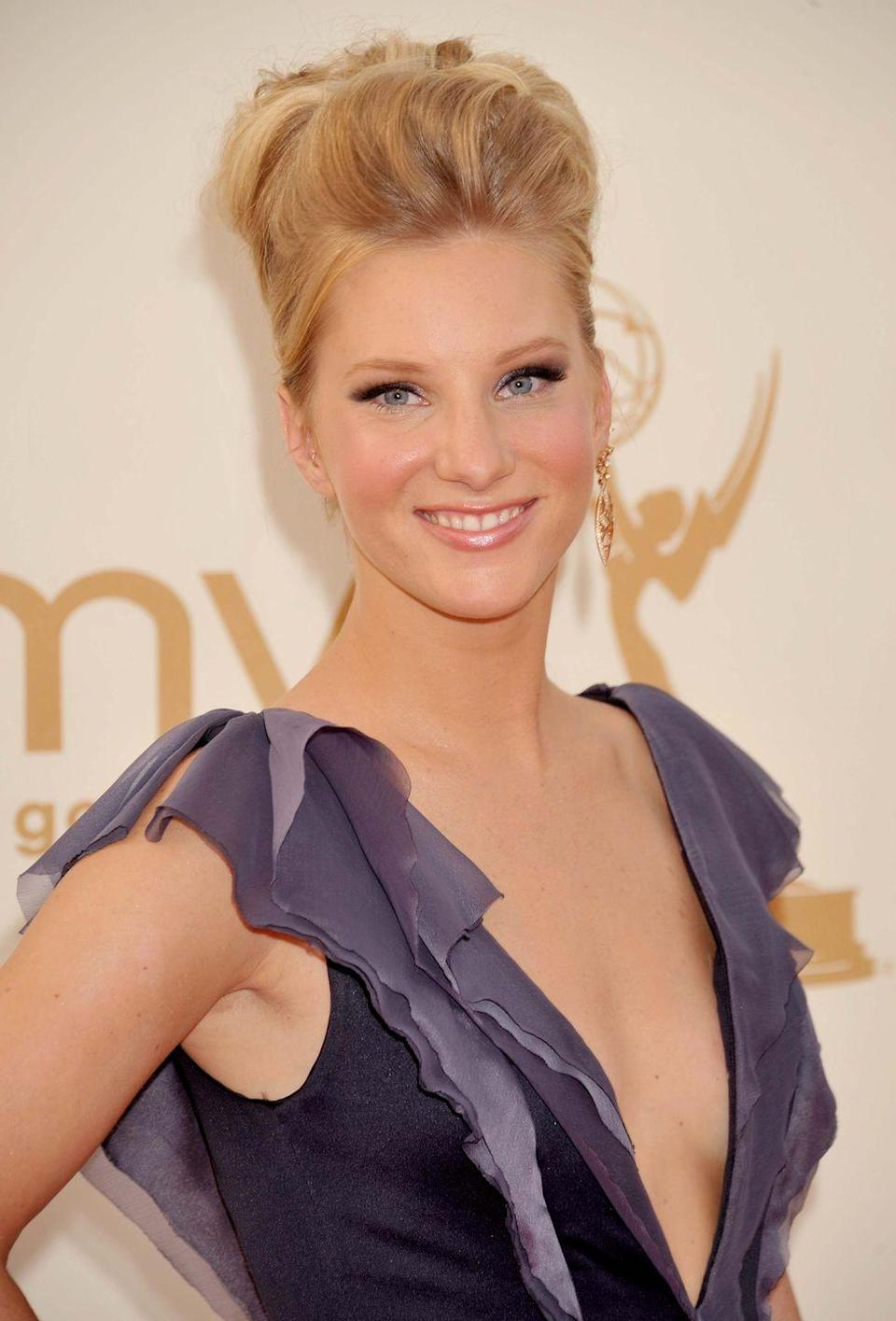 """<p>Glee star and dancer Heather Morris grew out of her breast implants, saying it was something she wanted when she was younger. '[They] were something I thought I wanted when I was younger, and now I don't,' she told <a href=""""https://www.fitnessmagazine.com/workout/real-plans/celebrity/glee-heather-morris-fitness-magazine-interview/"""" rel=""""nofollow noopener"""" target=""""_blank"""" data-ylk=""""slk:Fitness magazine"""" class=""""link rapid-noclick-resp"""">Fitness magazine</a> in 2011. 'It was hard being active with them, because my chest was always sore. It hurt a lot, and I didn't like always being in pain, so they had to go.'</p>"""