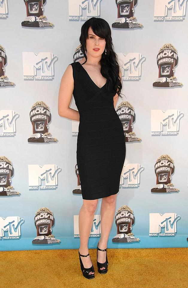 """BEST - <a href=""""http://movies.yahoo.com/movie/contributor/1800260809"""">Rumer Willis</a> took out the little black dress every woman wants in her closet."""