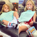 "<p>Now that's something to smile about! ""No cavities,"" the proud mama boasted of Ace Knute and Maxie Drew. The singer posted this hilarious pic of both her kids in the dentist chair, with cotton stuffed in their mouths. (Photo: <a href=""https://www.instagram.com/p/BX1CweDA6PG/?taken-by=jessicasimpson"" rel=""nofollow noopener"" target=""_blank"" data-ylk=""slk:Jessica Simpson via Instagram"" class=""link rapid-noclick-resp"">Jessica Simpson via Instagram</a>) </p>"