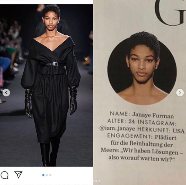 Naomi also shared two photos of Naomi Chin Wing