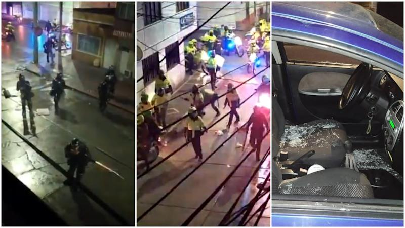 Colombia: Videos show night of police violence in one Bogotá neighbourhood