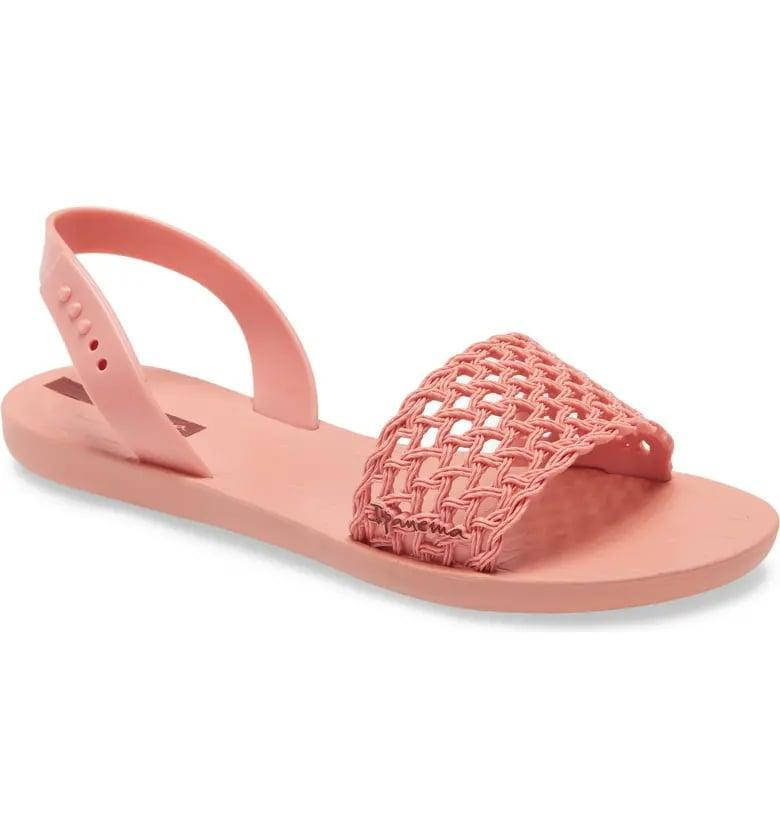 <p>These <span>Ipanema Breezy Waterproof Sandals</span> ($35) are so comfortable.</p>