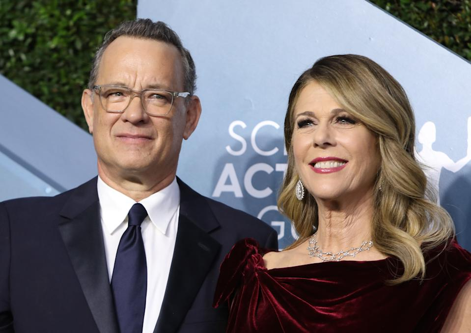 Tom Hanks announced last week that he and wife Rita Wilson have tested positive for COVID-19. (Photo: REUTERS/Monica Almeida)
