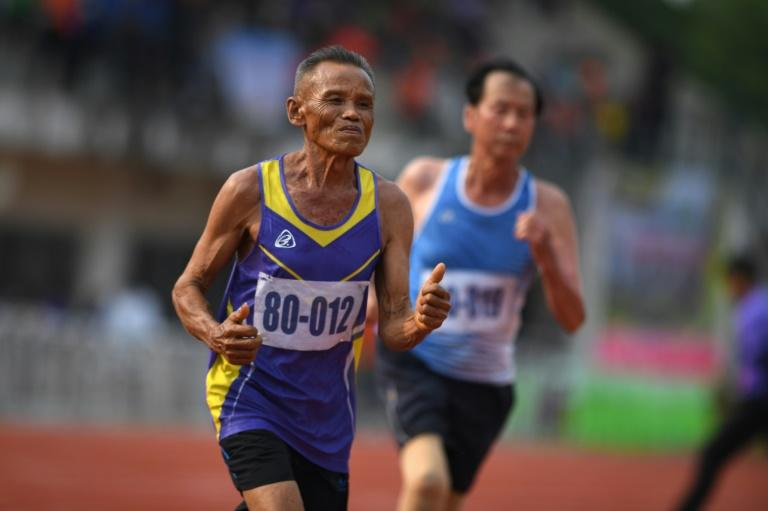 Thailand's first national Elderly Games was held this week