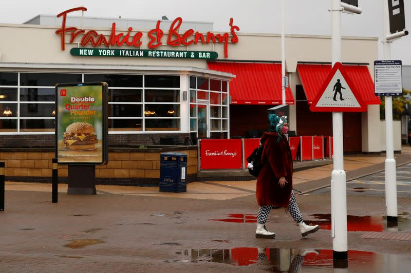FILE PHOTO: Frankie & Benny's restaurant in Cheshire