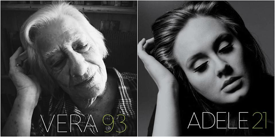 93-year-old Vera recreating Adele's 21