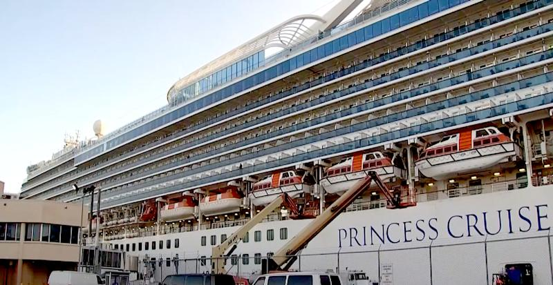 As one Princess cruise is quarantined for COVID-19, another is hit with different illness