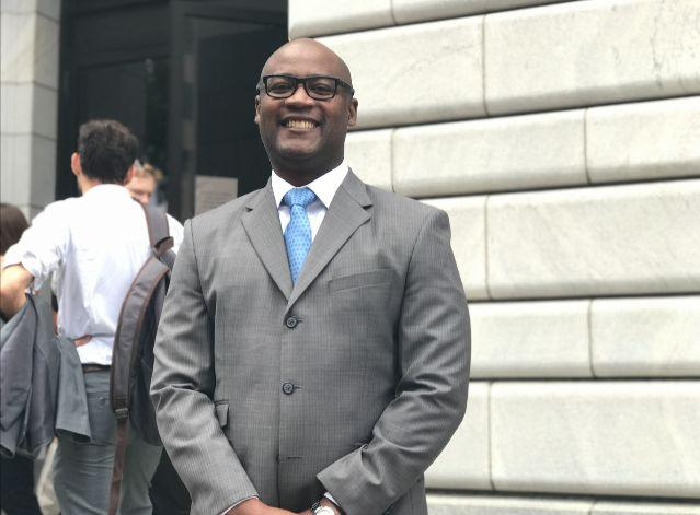 Judge Darrell Jordan of Harris County wants to bring an end to money-based bail.