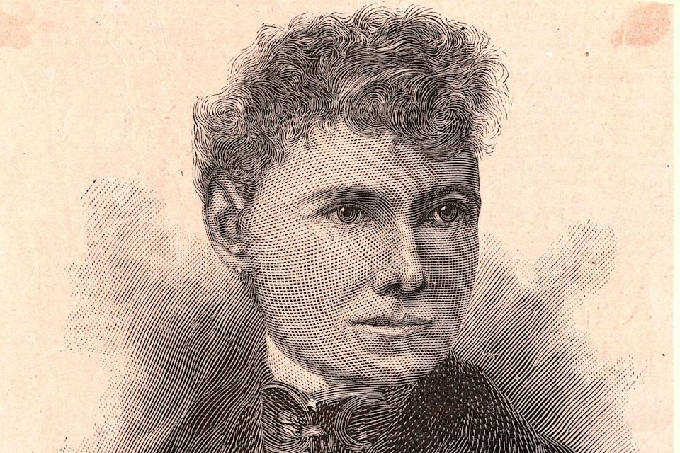 Engraving of Nellie Bly