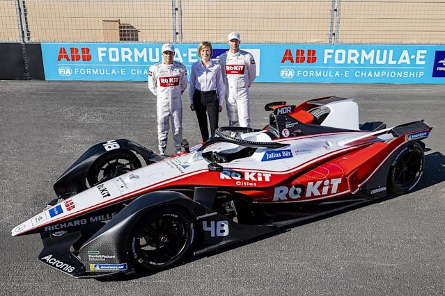 Williams F1 partner ROKiT to sponsor Venturi in FE