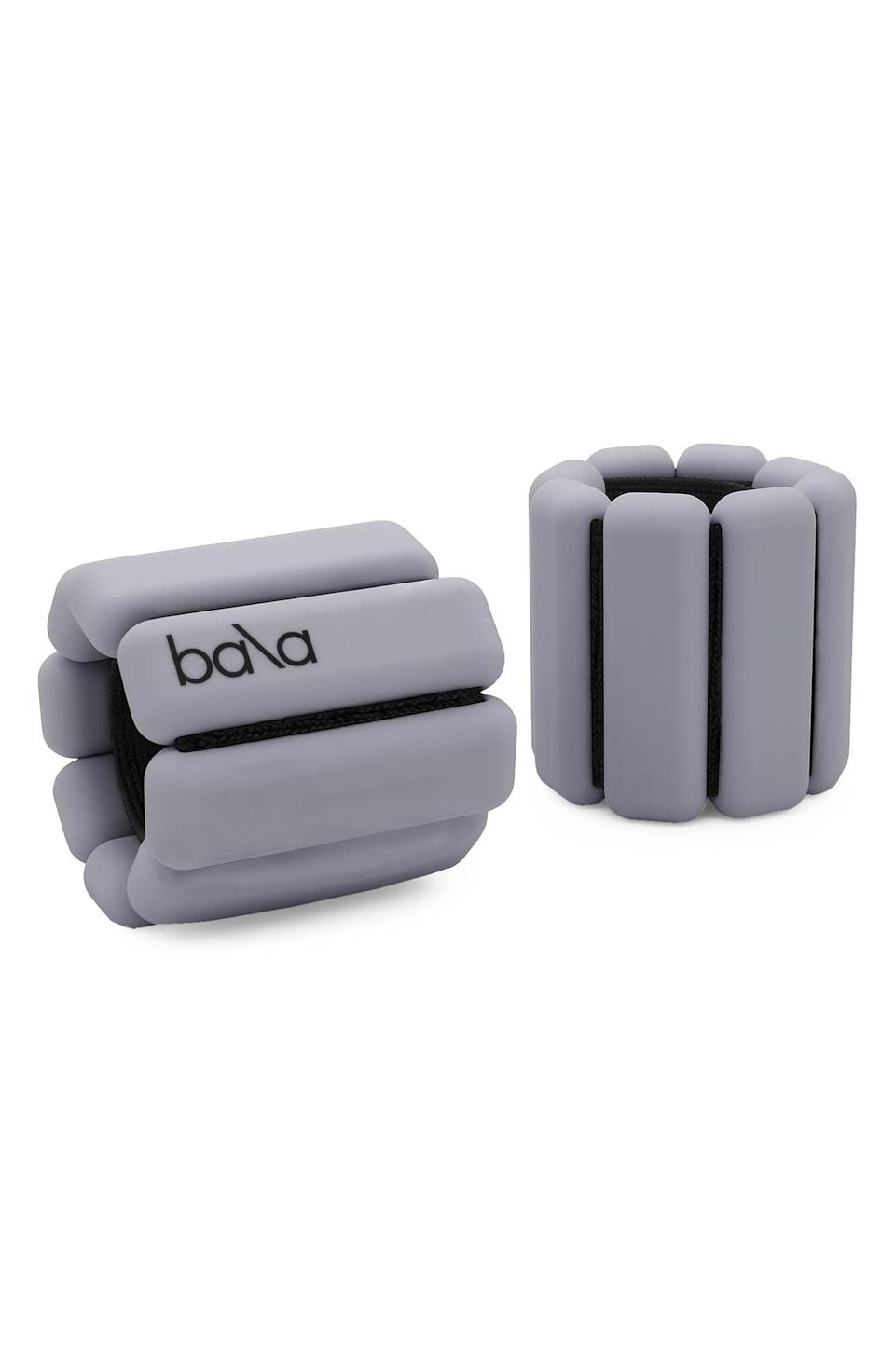 <p>Get these <span>Soda Says x Bala Set of 2 Weighted Bangles</span> ($49) for the fitness-lover in your life.</p>