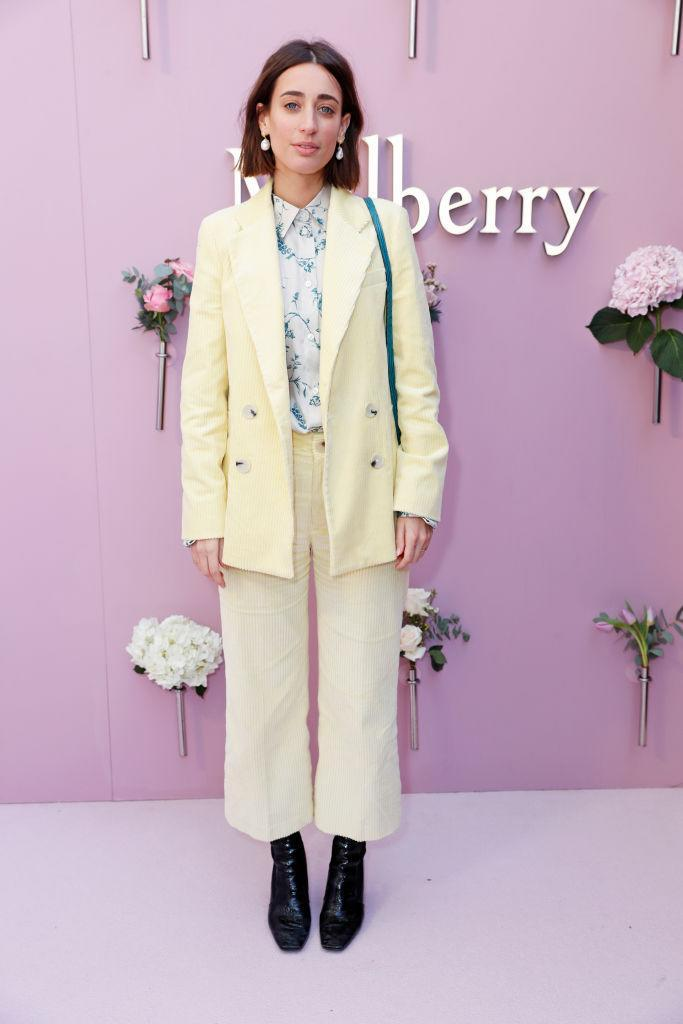 <p>Gaaah, we are totally obsessed with Laura Jackson's sweet co-ords. Corduroy is well and truly back, people! <em>[Photo: Getty]</em> </p>