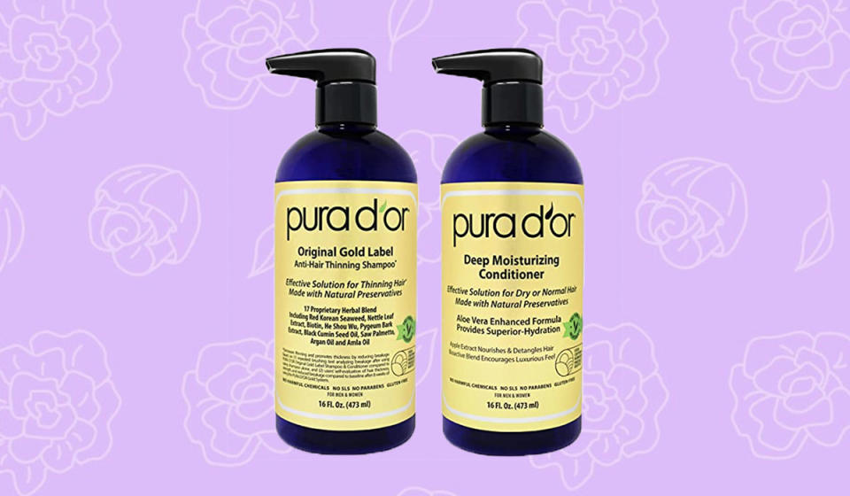 Get $20 off this treatment to minimize hair loss. (Photo: Amazon)