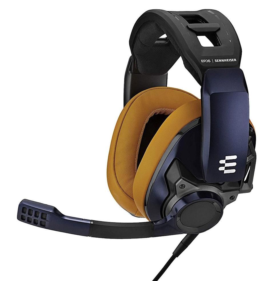 """<p><strong>EPOS x Sennheiser</strong></p><p>amazon.com</p><p><strong>$219.00</strong></p><p><a href=""""https://www.amazon.com/dp/B08DFXYB2T?tag=syn-yahoo-20&ascsubtag=%5Bartid%7C10054.g.14381053%5Bsrc%7Cyahoo-us"""" rel=""""nofollow noopener"""" target=""""_blank"""" data-ylk=""""slk:Buy"""" class=""""link rapid-noclick-resp"""">Buy</a></p><p>Really and truly, <a href=""""https://www.esquire.com/lifestyle/g27379304/best-gaming-headset/"""" rel=""""nofollow noopener"""" target=""""_blank"""" data-ylk=""""slk:gaming headsets"""" class=""""link rapid-noclick-resp"""">gaming headsets</a> do not come better than this one. Any audiophile or competitive gamer could tell you that.</p>"""