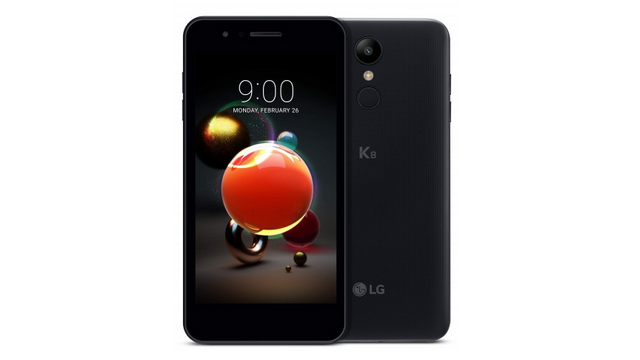 The 2018 LG K8. Image: LG Newsroom