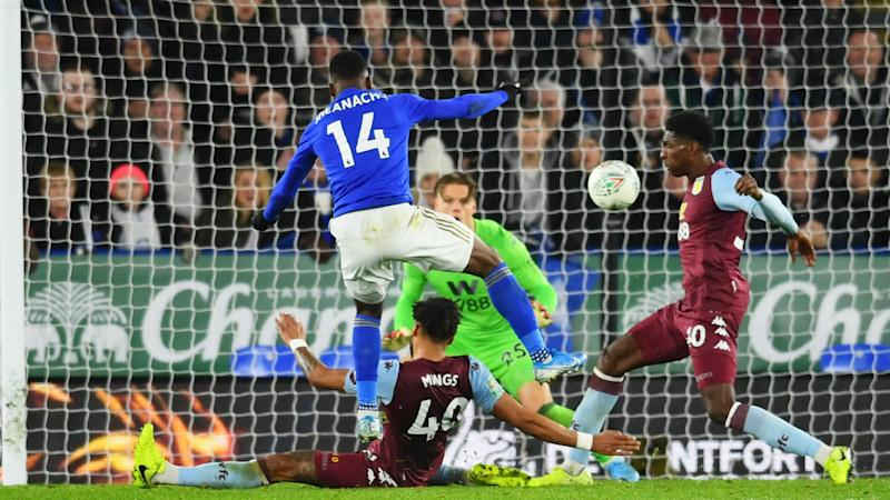 Leicester City 1-1 Aston Villa: Iheanacho spares Foxes to leave semi-final in the balance