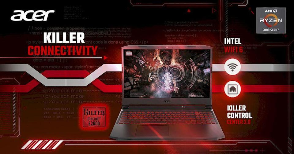 The Acer Nitro 5 comes in six variants, to be released across three different phases in Malaysia. — Picture courtesy of Acer