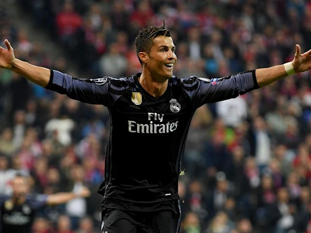 Cristiano Ronaldo was once again Real Madrid's hero when it mattered most: Getty