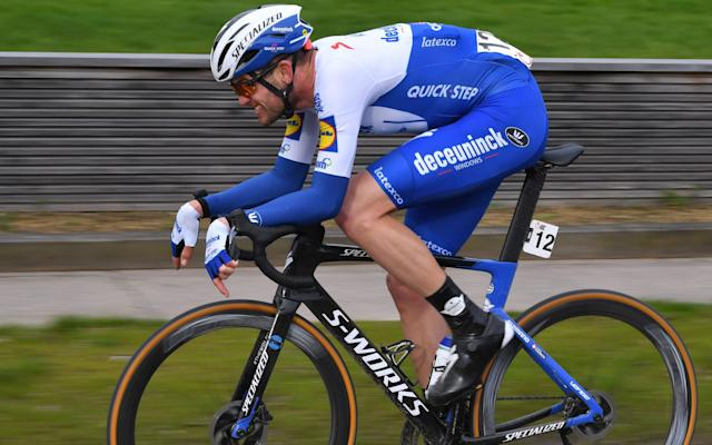 Kasper Asgreen - Kasper Asgreen lands Kuurne-Brussels-Kuurne after Ineos rider Gianni Moscon is kicked off race for throwing bike at rival - GETTY IMAGES
