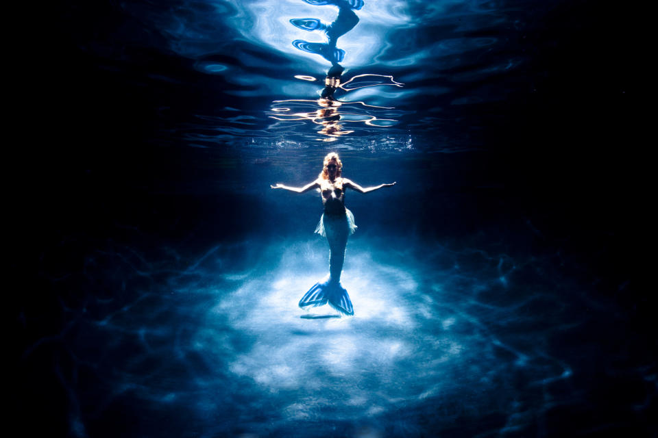 """Fraser's fascination with mermaids began when she saw the film, """"Splash."""""""