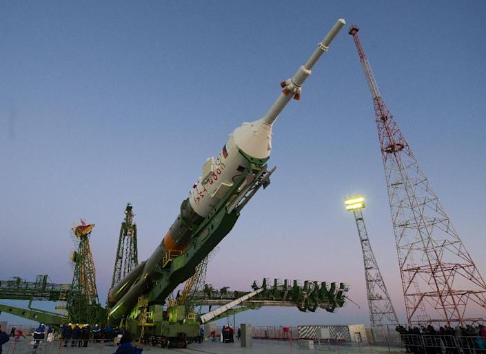 Russia's space programme was hit by two failures within weeks in May, with the Progress crash followed by the failure of a Proton rocket carrying a Mexican satellite (AFP Photo/Str)