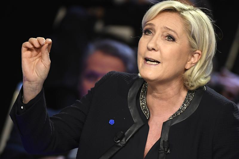 Trump Supporters Try and Shift Online Attention to France's Le Pen