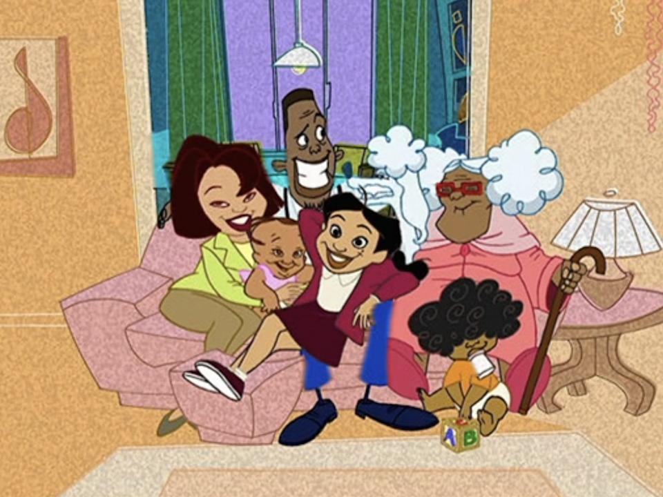 the proud family title sequence