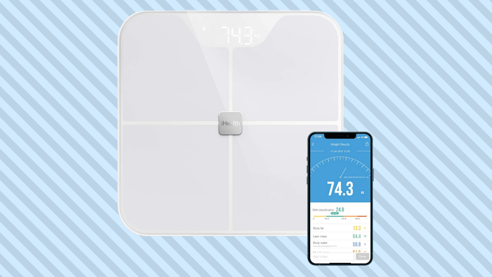 Save half on the iHealth Nexus Body Fat Smart Scale. (Photo: Amazon)
