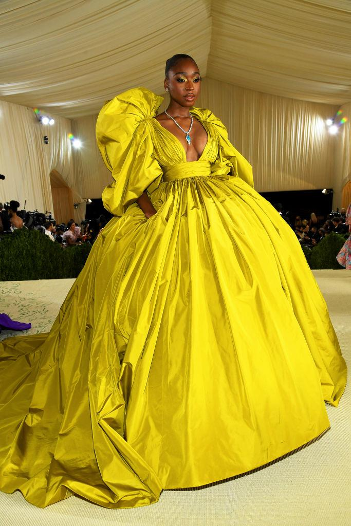 Normani at the 2021 Met Gala