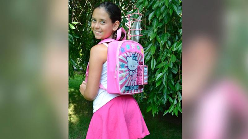 11-Year-Old Cancer Survivor Kylie Simonds Invents IV Backpack