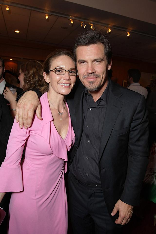 """<a href=""""http://movies.yahoo.com/movie/contributor/1800020036"""">Diane Lane</a> and <a href=""""http://movies.yahoo.com/movie/contributor/1800019611"""">Josh Brolin</a> at the after party for the Los Angeles premiere of <a href=""""http://movies.yahoo.com/movie/1810041985/info"""">Milk</a> - 11/13/2008"""