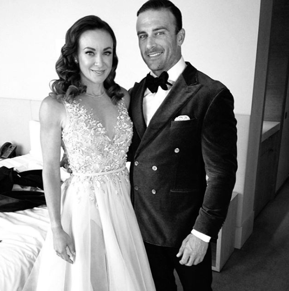Michelle and Commando sparked marriage rumours with this photo in October 2019. Photo: Instagram/mishbridges