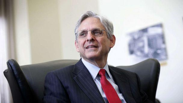 PHOTO: Supreme Court nominee Merrick Garland, chief judge of the D.C. Circuit Court, during a meeting with U.S. Sen. Brian Schatz (D-HI), May 10, 2016, on Capitol Hill. (Alex Wong/Getty Images)
