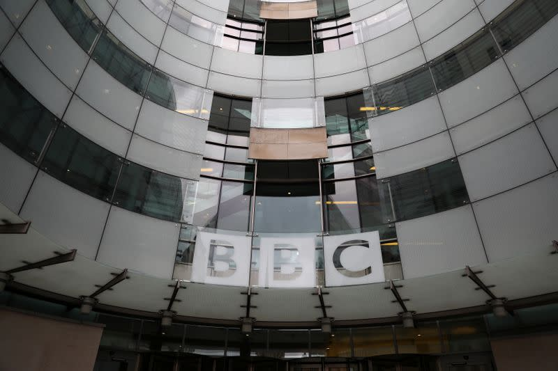 Britain's BBC announces further 70 job cuts in news