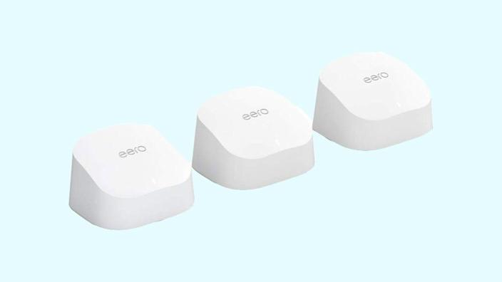 Amazon's Eero mesh wi-fi system is just one of the many bundled deals Prime members can access on the site now.