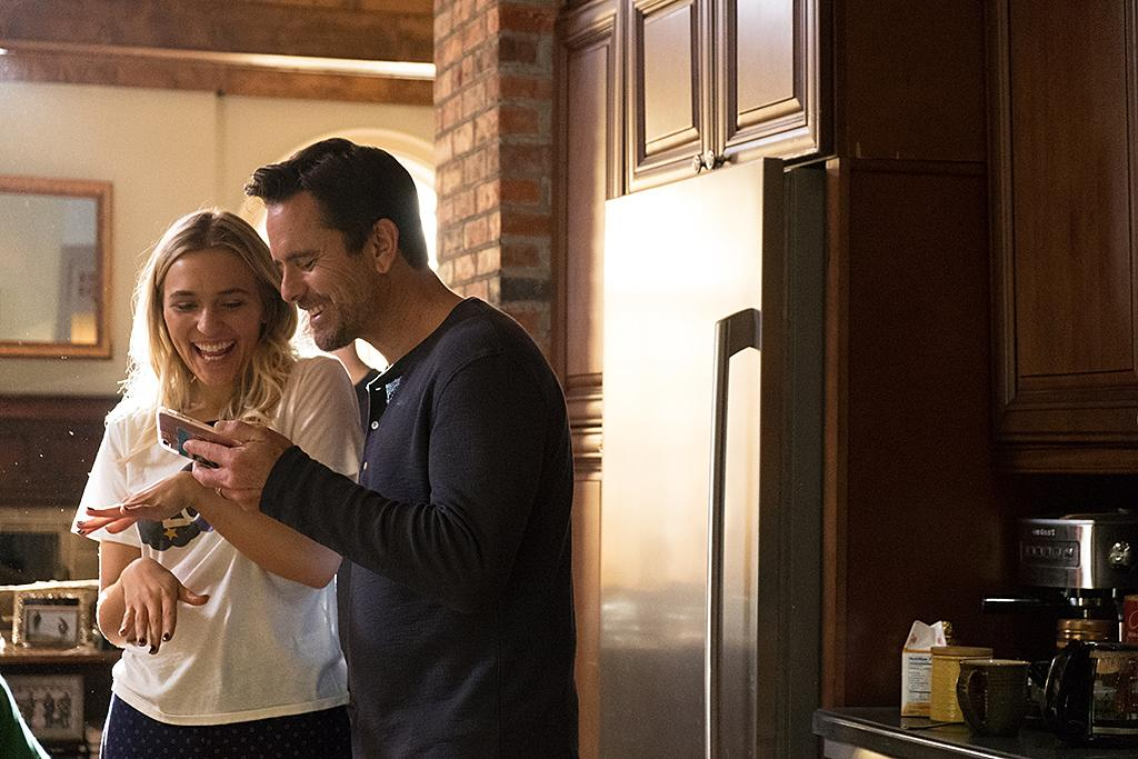 <p>Lennon Stella as Maddie Conrad and Charles Esten as Deacon Claybourne in CMT's <i>Nashville</i>.<br /><br />(Photo Credit: Jake Giles Netter) </p>