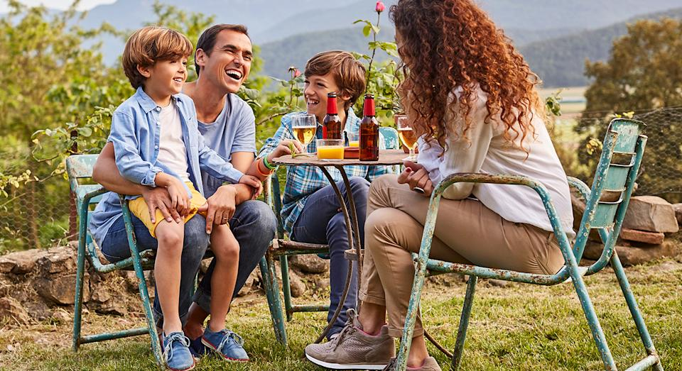 Enjoy the outdoors with John Lewis' affordable bistro set.  (Getty Images)