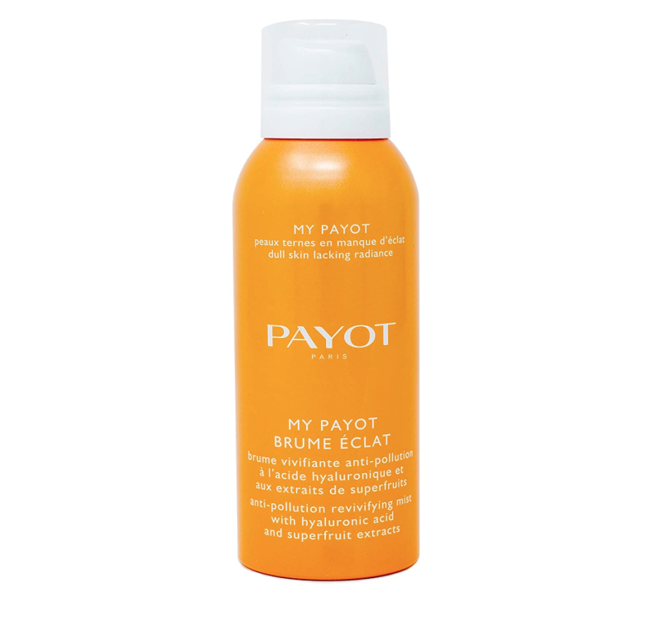 """<p><strong>Payot</strong></p><p>amazon.com</p><p><strong>$28.00</strong></p><p><a href=""""https://www.amazon.com/dp/B00ZWUGUZW?tag=syn-yahoo-20&ascsubtag=%5Bartid%7C10058.g.36111345%5Bsrc%7Cyahoo-us"""" rel=""""nofollow noopener"""" target=""""_blank"""" data-ylk=""""slk:SHOP IT"""" class=""""link rapid-noclick-resp"""">SHOP IT</a></p><p>An anti-pollution mist is a must for your desk, especially if you live in a big city. This one is infused with hyaluronic acid for extra hydration to keep you fresh-faced when happy hour rolls around. </p>"""