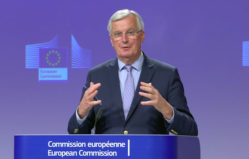 Michel Barnier, the EU's chief negotiator: EbS