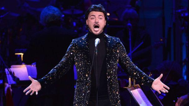 PHOTO: Vittorio Grigolo performs onstage during The Revlon Concert for the Rainforest Fund 'Baby It's Cold Outside' at Carnegie Hall on December 14, 2016 in New York City. (Kevin Mazur/Getty Images for The Rainforest Fund)