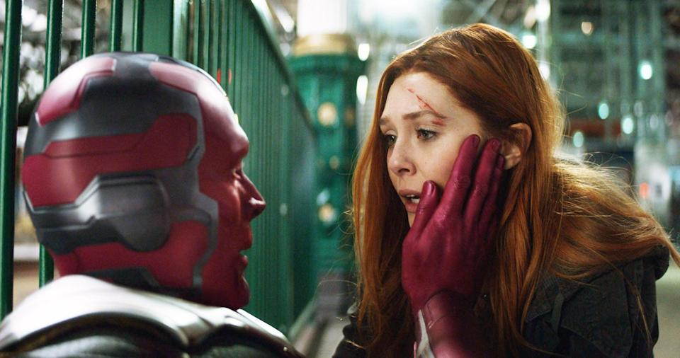 The Wanda Maximoff / Vision series is coming to Disney+ (credit: Marvel Studios)