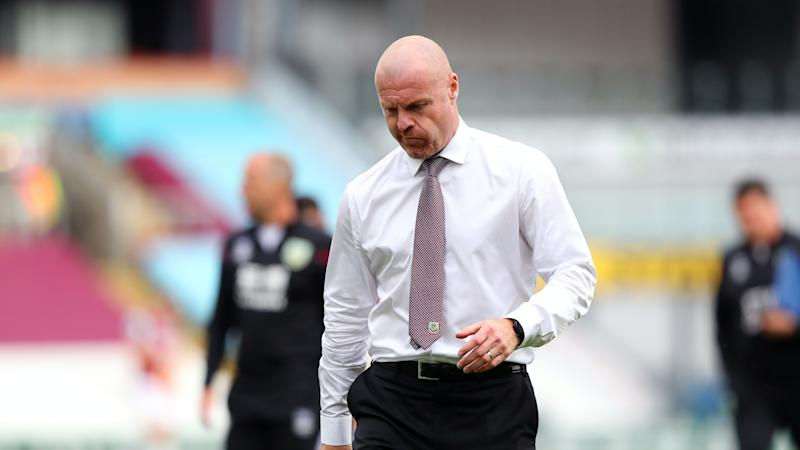 Sean Dyche brushes off talk over Burnley future